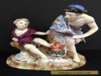 "Antique Royal Vienna Dresden ""Beehive"" Porcelain Figurine"