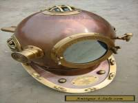 "18""SCUBA Divers Helmet Made By Anchor Engineering Germany 1921- Diving Helmet"