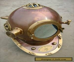"18""SCUBA Divers Helmet Made By Anchor Engineering Germany 1921- Diving Helmet for Sale"