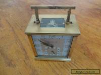 Antique/vintage French Carriage Working Clock