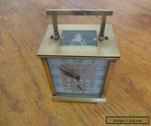 Antique/vintage French Carriage Working Clock  for Sale