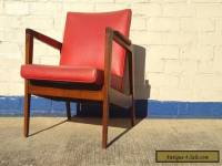 Vintage Gunlocke Lounge Chair in the style of Risom ~ Mid Century Modern
