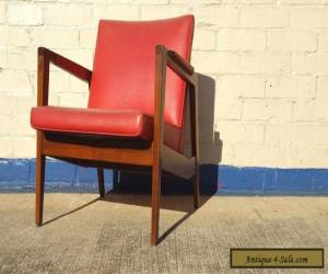 Vintage Gunlocke Lounge Chair in the style of Risom ~ Mid Century Modern  for Sale