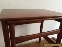 HANS WEGNER NESTING TABLES ANDREAS TUCK VINTAGE MID CENTURY EAMES DANISH