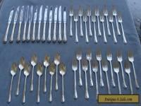 45 Pcs, Set for 12, Oneida Sterling Silver Engagement Flatware