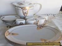 RARE AMAZING ART DECO COMPLEET DESERT TEA SET