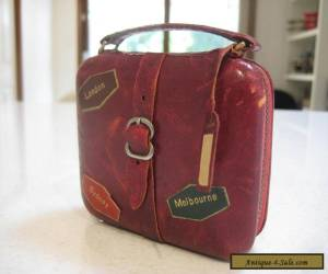 "Fascinating Novelty Old Vintage ""Suitcase""Travel Alarm Clock,  Germany for Sale"