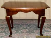 STATTON END TABLE Solid Cherry OldTowne Side Table VINTAGE