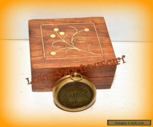 ANTIQUE NAUTICAL BRASS COMPASS-MINI COMPASS-GIFT COMPASS for Sale