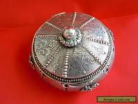 RARE Russian 84 Silver Jewelry BOX Romanov dynasty period Moscow 19th century