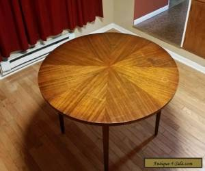 Vintage American Martinsville Mid Century Danish Modern Starburst Dining Table for Sale