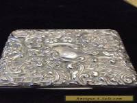 Solid Silver Box - Sheffield - 1898