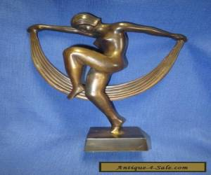 Art Deco Bronze Dancing Nude After Denis for Sale