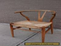 Hans Wegner ch24 Wishbone chair OAK frame Authentic mid century Danish Modern