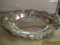 STERLING SILVER ORNATE BOWL