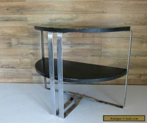 Wolfgang Hoffmann Art Deco Demilune End Table #301 for Sale
