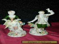 Pair dresden  figures