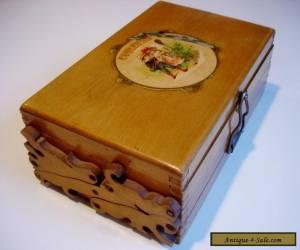 Fine Antique French Painter's Box, Circa 1900 for Sale