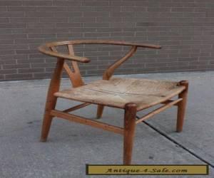 Hans Wegner ch24 Wishbone chair OAK frame Authentic mid century Danish Modern for Sale