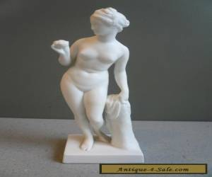 "Vtg B & G Bing & Grondahl Copenhagen Parian Ware Nude Classical Figure Marked 6"" for Sale"
