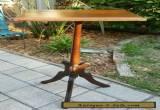 ANTIQUE VINTAGE EASTLAKE VICTORIAN Carved WALNUT  Wood Plant FERN Stand   for Sale