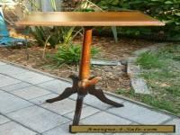 ANTIQUE VINTAGE EASTLAKE VICTORIAN Carved WALNUT  Wood Plant FERN Stand