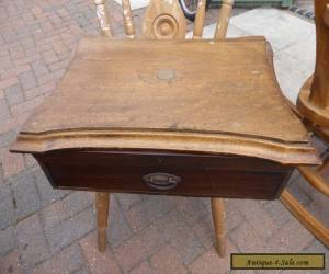 Old wooden cutlery box for Sale