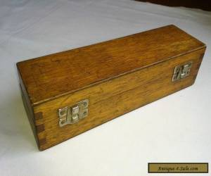 Small Vintage Wooden Dove Tail Joint Tool Box. for Sale