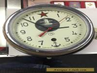 Vintage Russian Submarine Wall Clock With Key.