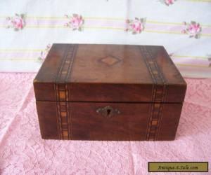 "ANTIQUE WOODEN  BOX 9"" X 5.5"" for Sale"