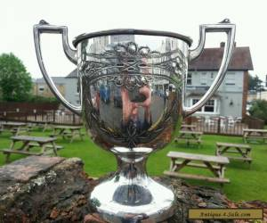 Antique Silver Plated Trophy Cup EPBM for Sale