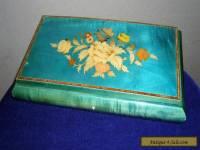 Vintage 1950's Sorrento ware style jewellery box ##BLAB6BS