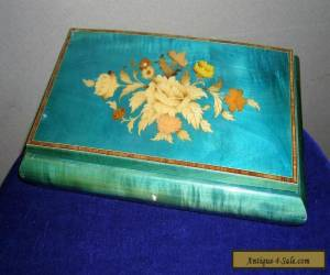 Vintage 1950's Sorrento ware style jewellery box ##BLAB6BS for Sale