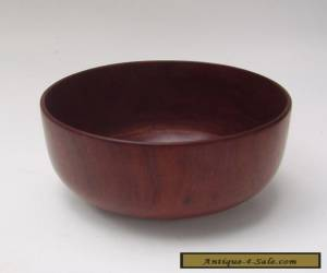 Rosewood Bowl - Mid Century Modern for Sale
