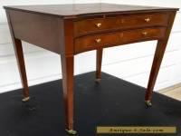 Baker Furniture Historic Charleston Reproduction Sheraton Style Sewing Table 927