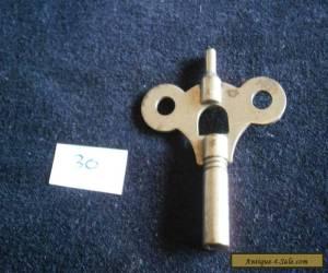 Antique/vintage Clock Key double ended (lot 30)  for Sale