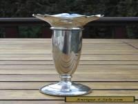 Antique Solid Silver Posy Vase Birmingham 1925 Hallmark