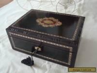 Antique French Napoleon III Trinket/Jewel box c 1860