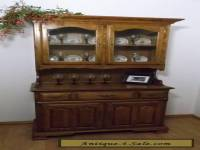 Vintage Mid-Century Early American Style China Cabinet