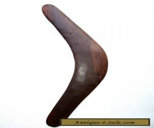 Large Vintage Aboriginal Boomerang - South Australia 1970's for Sale
