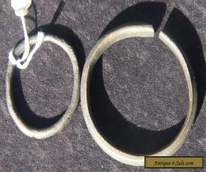 2 African Bronze Manilla Money or Bracelets or?  for Sale