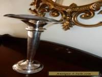 Vintage Silver EPNS A1 Vase