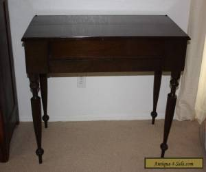 Antique/Vintage/Primative Spinet Piano Desk with Mahogany Wood for Sale