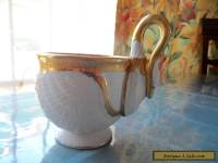 Swan Cup with Gold Gilt French