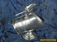 Estate Item Antique Stewart Dawson Silver Plate Sugar Hod with Scoop