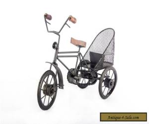 collectible iron cast antique quality vintage old style beautiful bicycle HC 036 for Sale