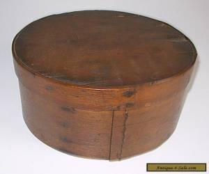 "ANTIQUE WOODEN SHAKER PRIMITIVE PANTRY BOX LARGE 9 1/2"" for Sale"