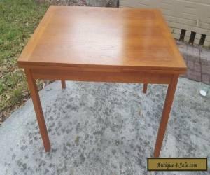 Mid Century Danish Danish Modern Teak Extension dining table for Sale
