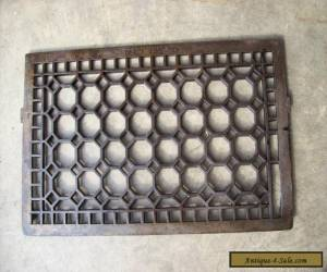 honeycomb wall mount grate insert (G 455) for Sale