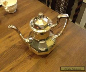 Reed & Barton SILVERPLATE SiX CUP COFFEE / TEA POT #3940 for Sale
